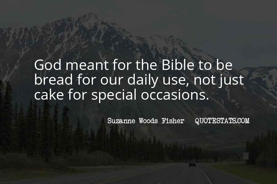 Our Daily Bread Best Quotes #222199