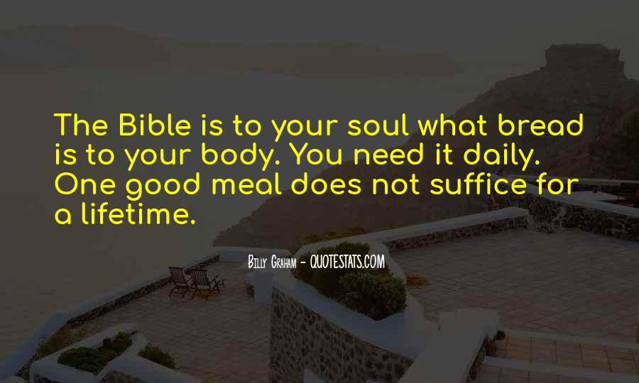 Our Daily Bread Best Quotes #35146