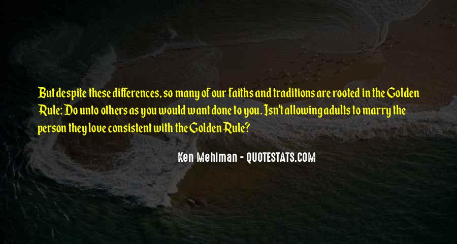 Our Differences Love Quotes #1809000
