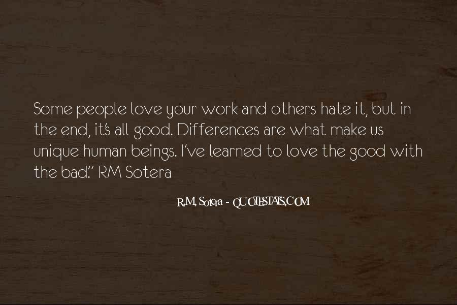 Our Differences Love Quotes #195829