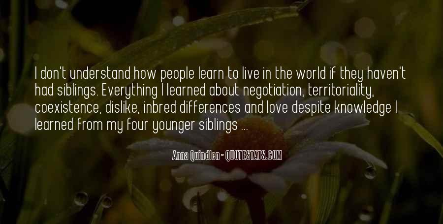 Our Differences Love Quotes #221341