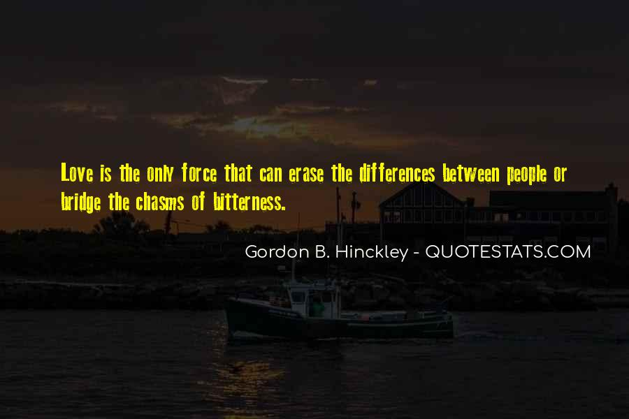 Our Differences Love Quotes #241208