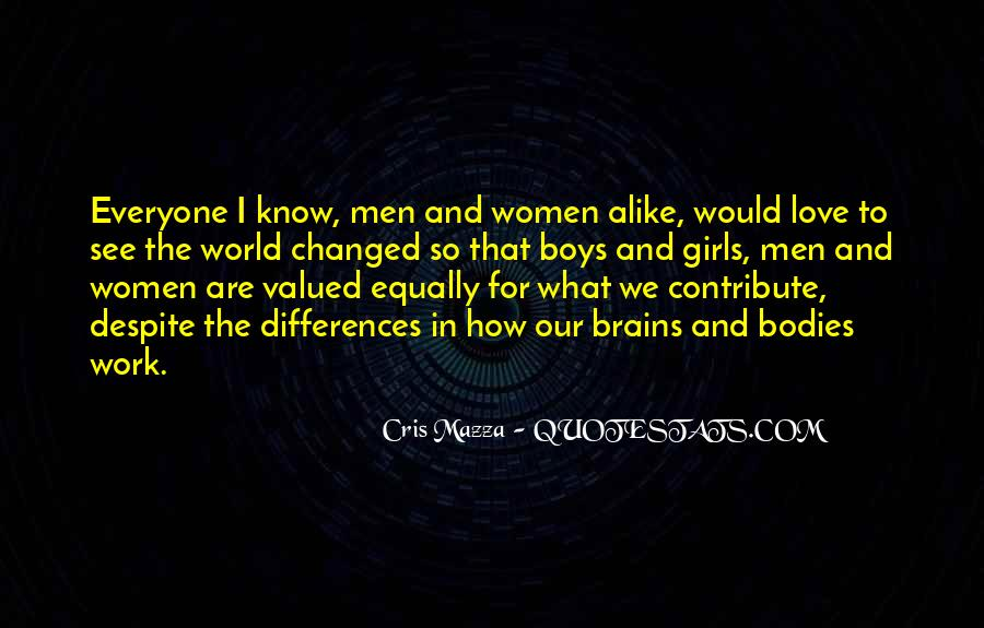 Our Differences Love Quotes #33630