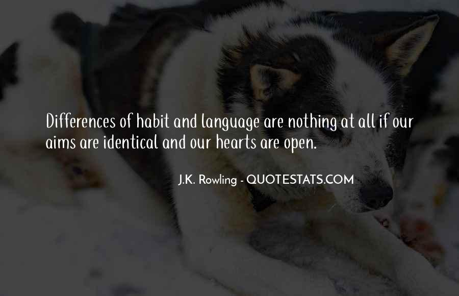 Our Differences Love Quotes #341353