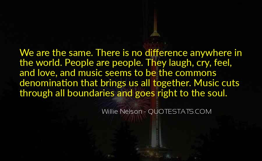 Our Differences Love Quotes #826918
