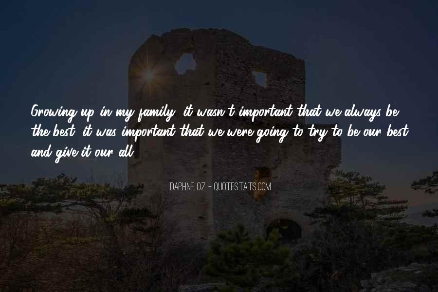 Our Growing Family Quotes #1357704