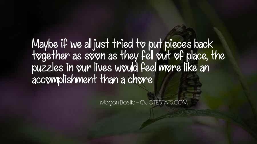 Our Lives Together Quotes #1081724