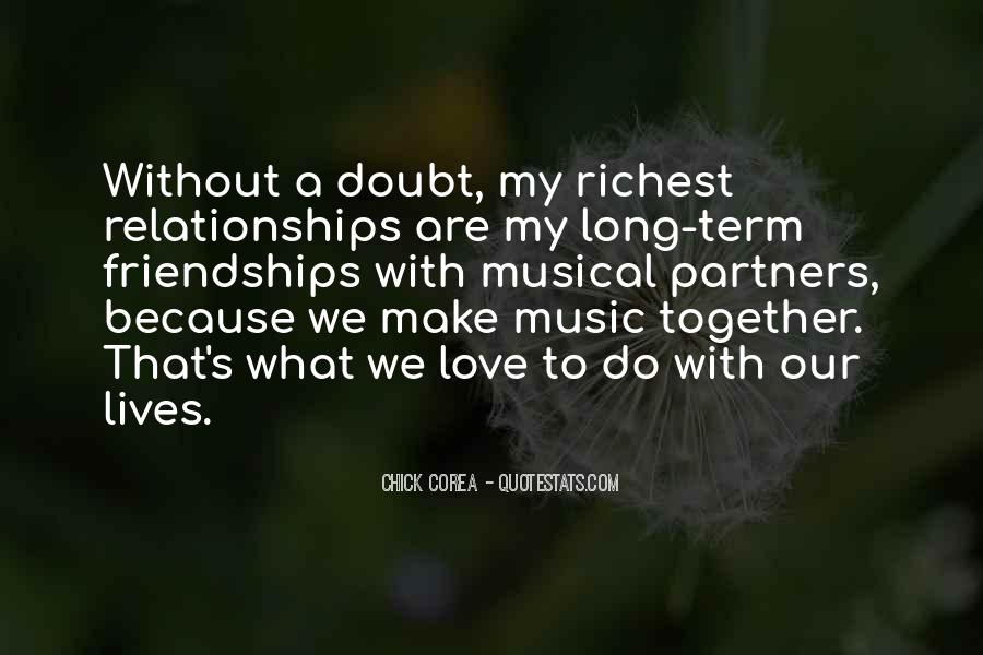 Our Lives Together Quotes #398030