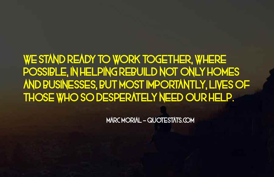 Our Lives Together Quotes #493085
