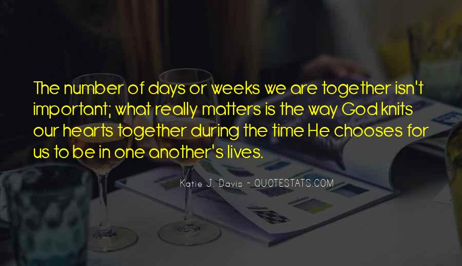 Our Lives Together Quotes #629387