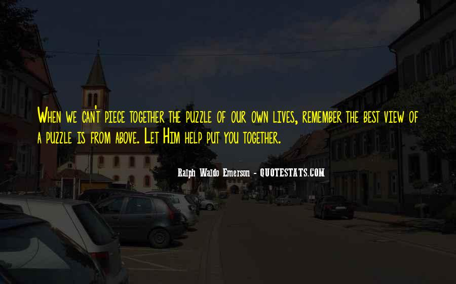 Our Lives Together Quotes #704517