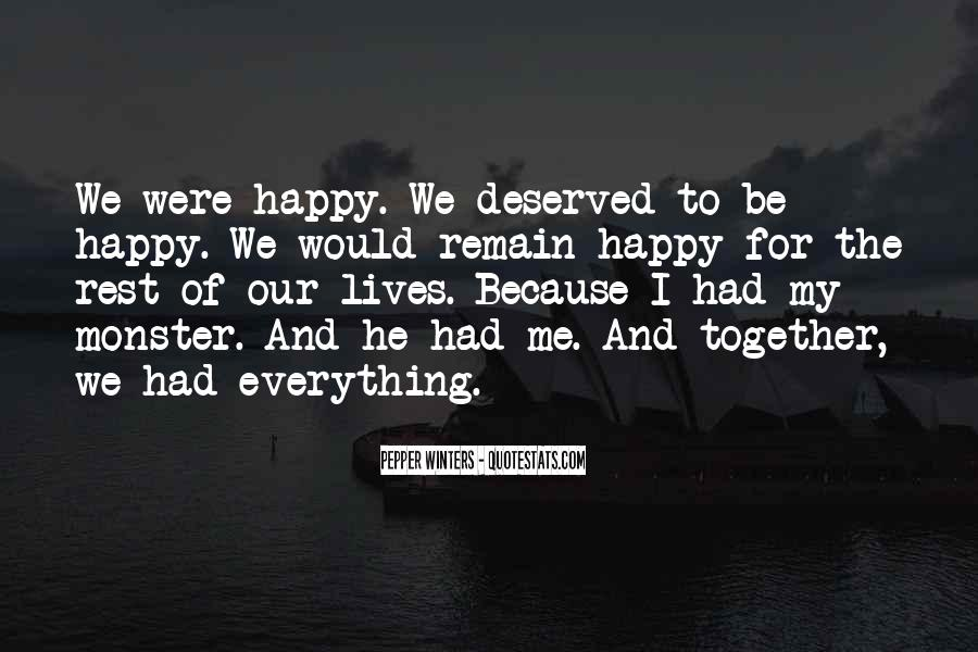 Our Lives Together Quotes #715244