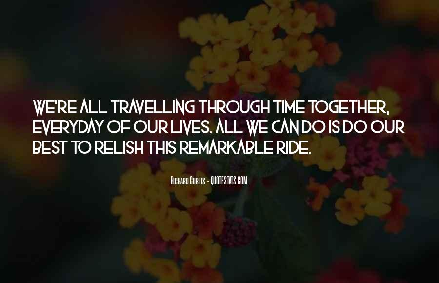 Our Lives Together Quotes #75352