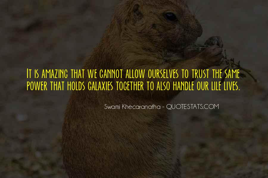 Our Lives Together Quotes #805809