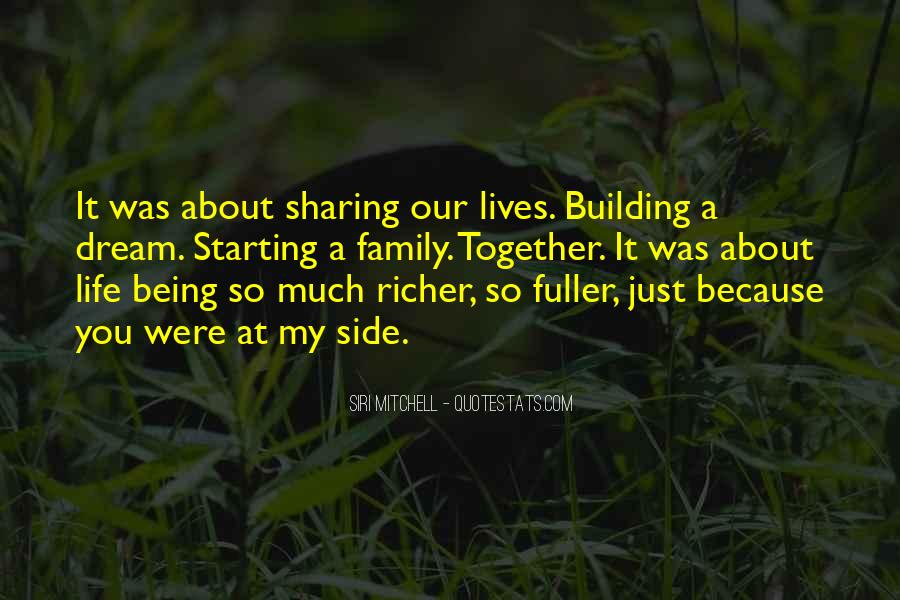 Our Lives Together Quotes #938413