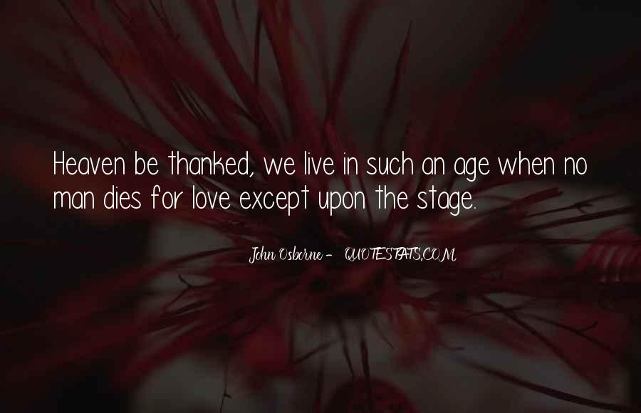 Our Love Dies Quotes #102728
