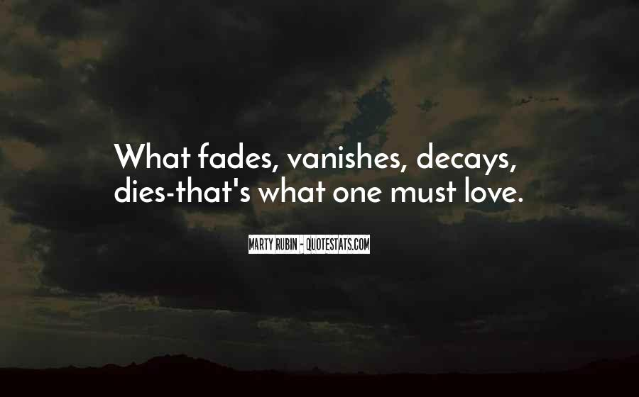 Our Love Dies Quotes #123674