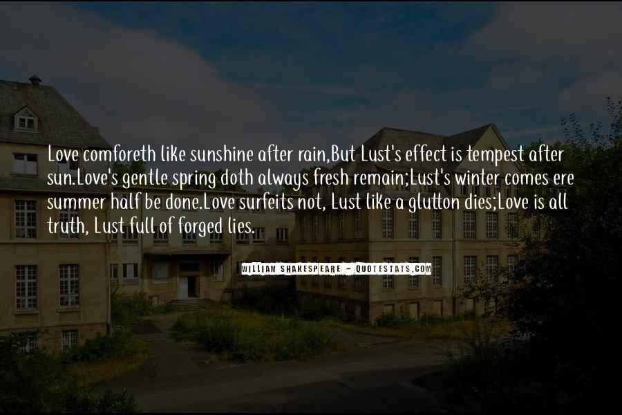 Our Love Dies Quotes #49124