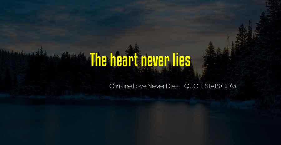 Our Love Dies Quotes #60025
