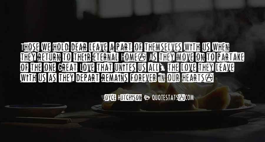 Our Love Forever Quotes #1104463