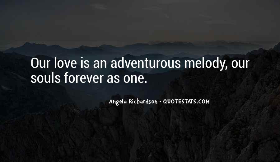 Our Love Forever Quotes #1218993