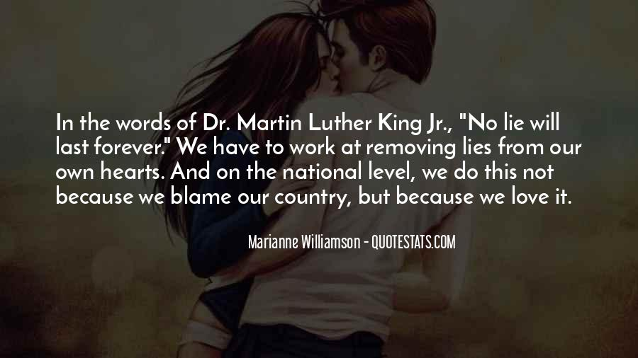 Our Love Forever Quotes #143117