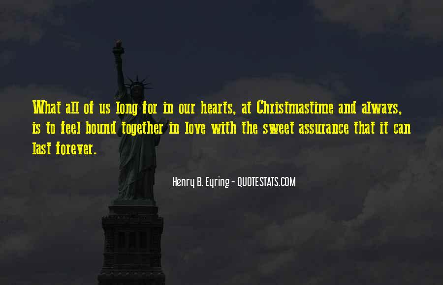 Our Love Forever Quotes #74104