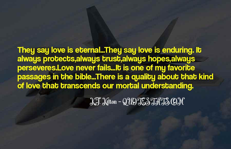 Our Love Never Fails Quotes #1193231