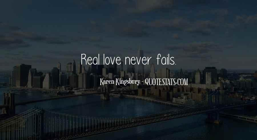 Our Love Never Fails Quotes #411448