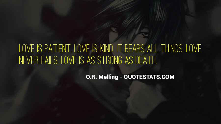 Our Love Never Fails Quotes #607035