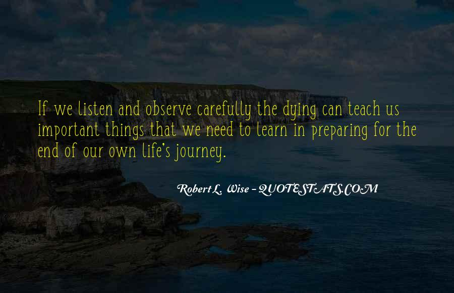 Our Own Journey Quotes #1125215
