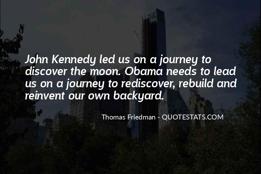 Our Own Journey Quotes #1440946