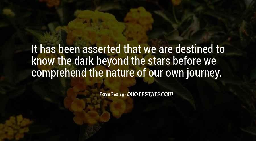 Our Own Journey Quotes #1465180