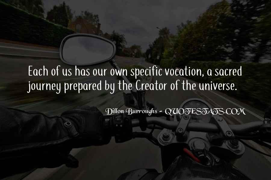 Our Own Journey Quotes #1499338