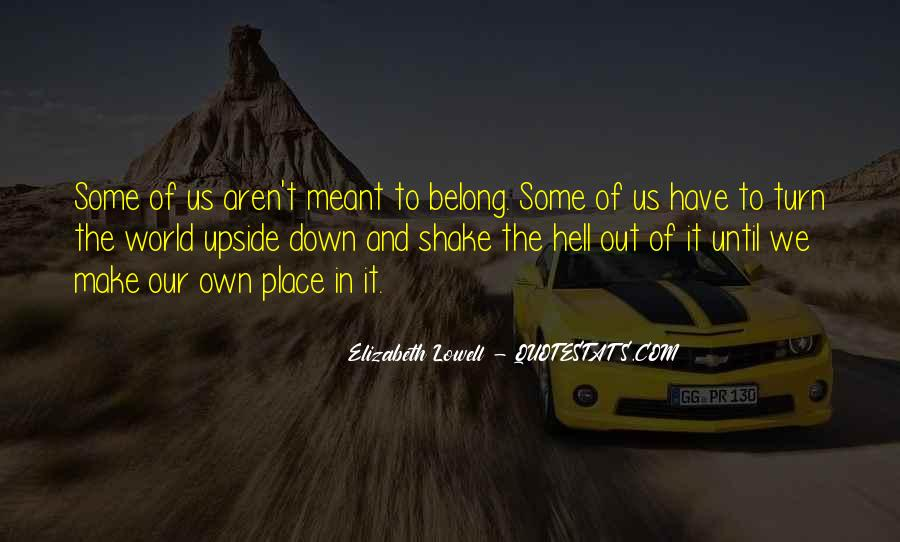 Our Own Journey Quotes #1575101