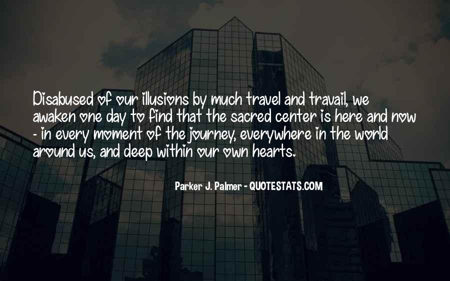 Our Own Journey Quotes #1770968