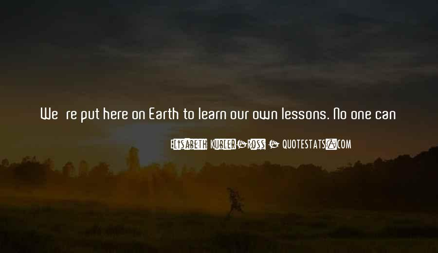 Our Own Journey Quotes #224528