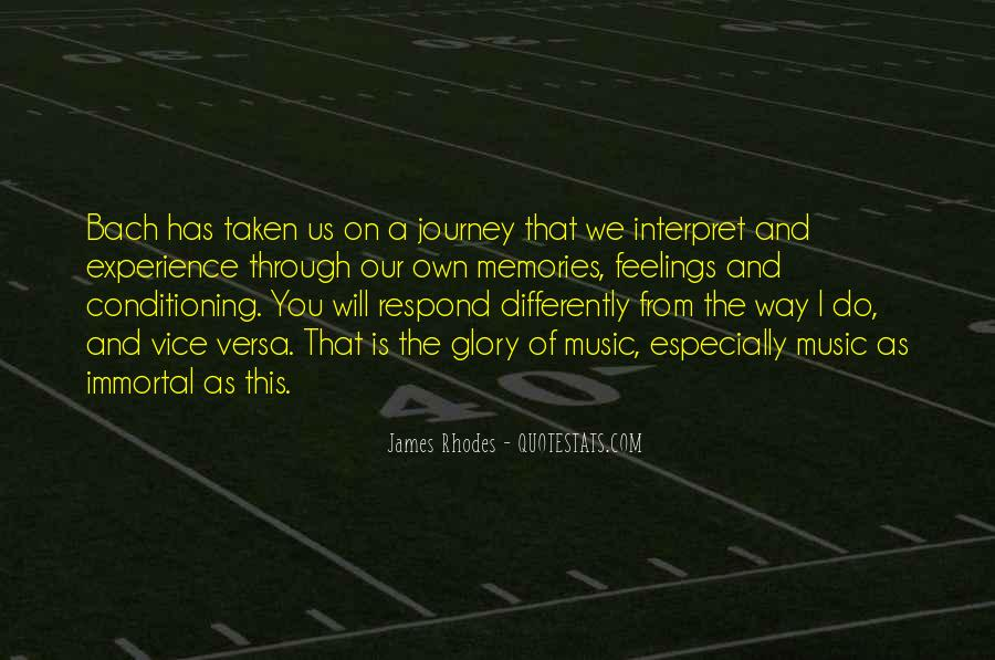 Our Own Journey Quotes #231891