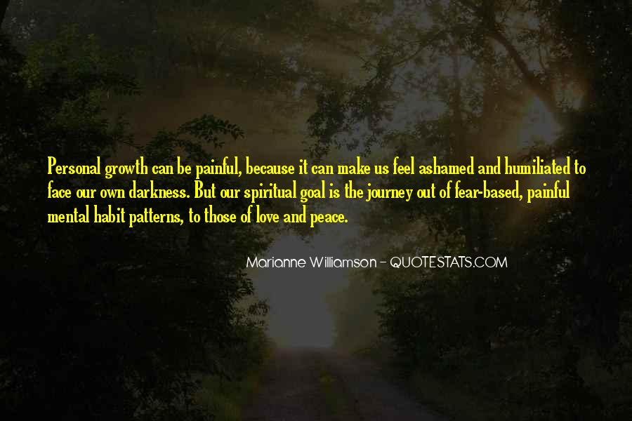 Our Own Journey Quotes #351275