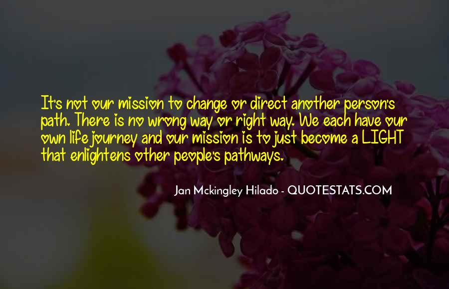 Our Own Journey Quotes #675229