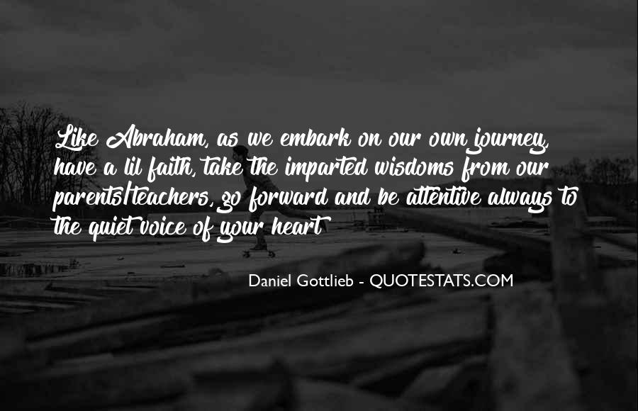 Our Own Journey Quotes #751954