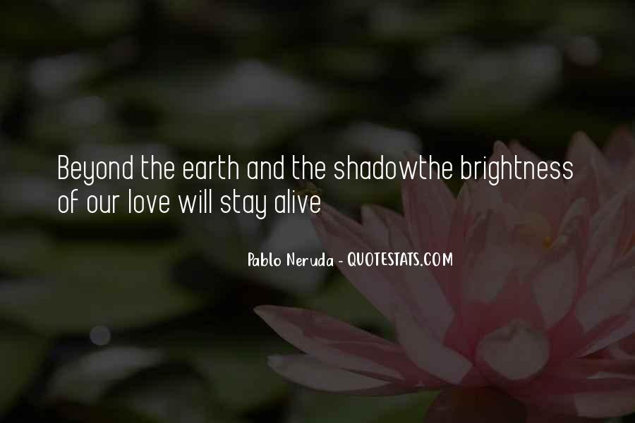 Our Shadow Love Quotes #1686088