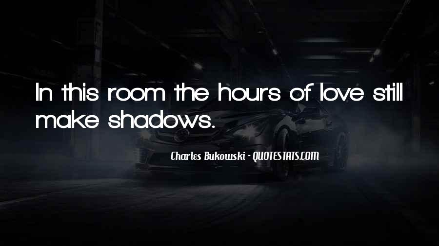 Our Shadow Love Quotes #323958