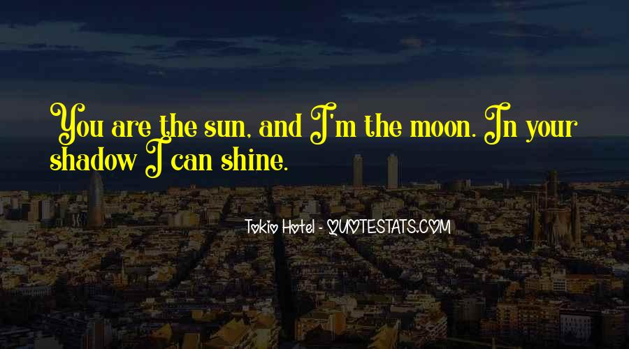 Our Shadow Love Quotes #43571