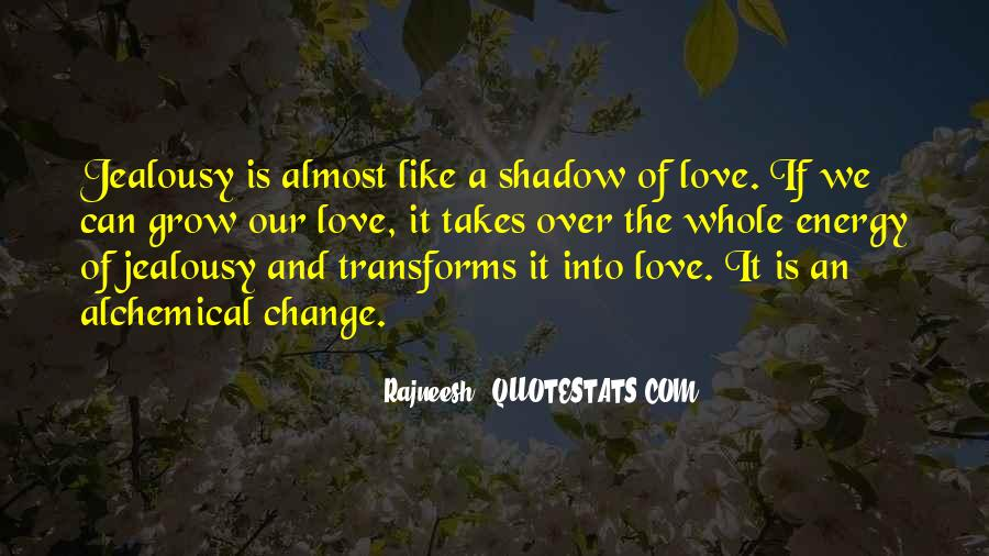 Our Shadow Love Quotes #87105