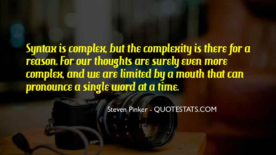 Our Time Is Limited Quotes #696357