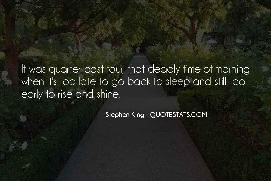 Our Time To Shine Quotes #147815