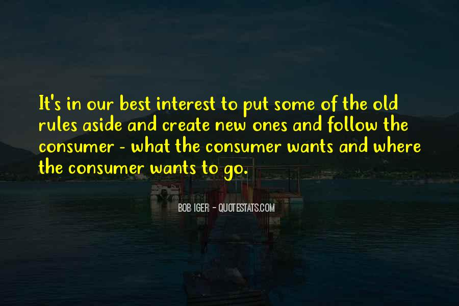 Our Wants Quotes #10077