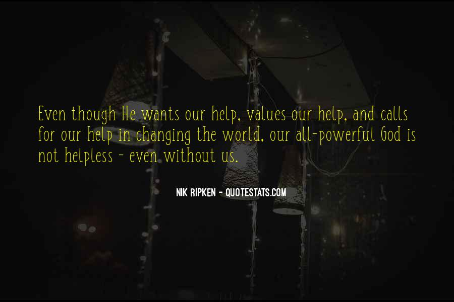 Our Wants Quotes #255477