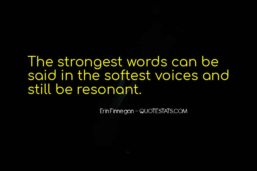 Our Words Have Power Quotes #109001